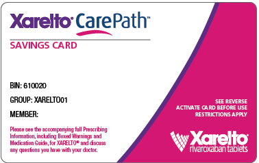 xarelto coupon for medicare patients